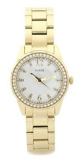 Guess DESIRE W0445L2 Analog Gold Tone Round LADIES SPORT Collection