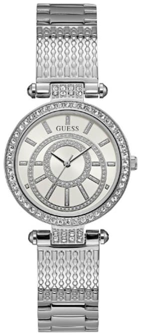 Guess Rose Gold Dial Analog Women's Watch-W1009L3