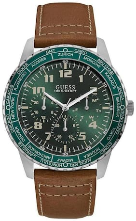 Guess W1170G1 Brown Multi-function Men's Watch