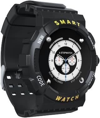 H.G.HAWA & CO Z19 Unisex 50 mm Black Smart Watch