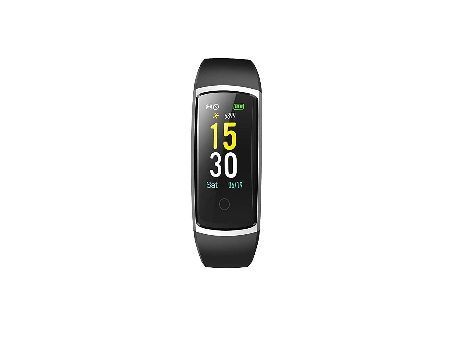 Hammer ID128 Unisex Smart Fitness Band;Activity Tracker and Fitness Tracker with Multifunctions...