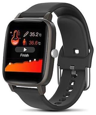 Hammer Pulse Multifunctional Smart Fitness Watch Black