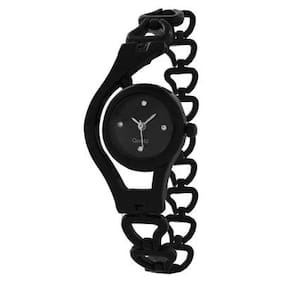 Heer Nx Glory Fancy Black Analog Watch For Women And Gilrs