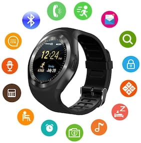 Hot Selling High Quality Y1 Smartwatch with Pedometer;Remote Camera;Sim Card and Sleep Monitoring Support for all Smartphone