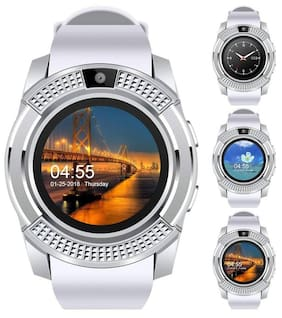 Hot Selling V8 Smartwatch with Pedometer;Camera;Sim Card;Sleep Monitoring Support for all Android/IOS Smartphone