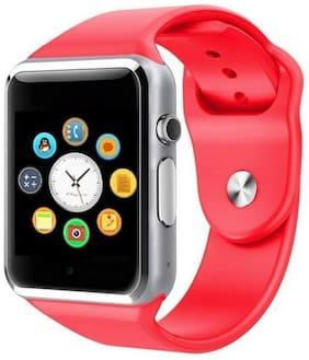 Unisex Red Smart Watch