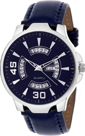HRV 1135-BL Day and Date Watch - For Men