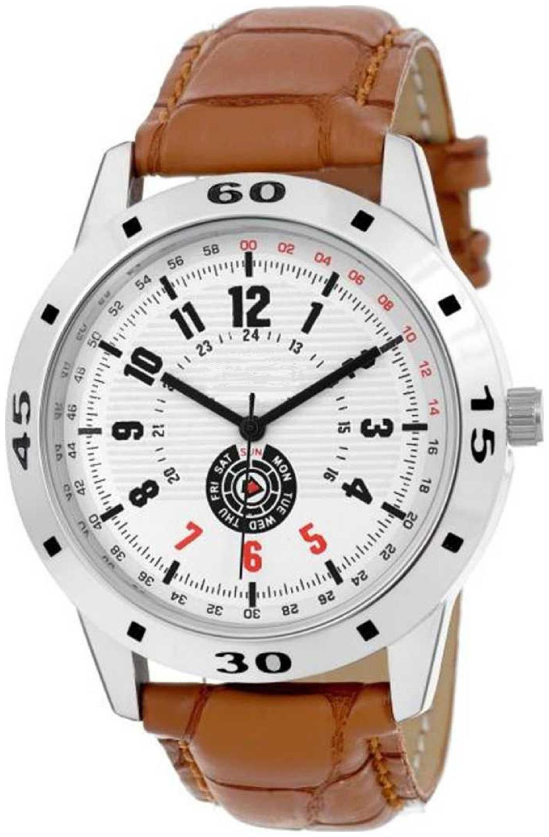 Hrv Analog Watch For Men and Boys
