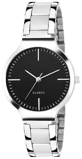 82a90d32e62d HRV Black dial stainless steel professional watch for women Watch - For  Girls
