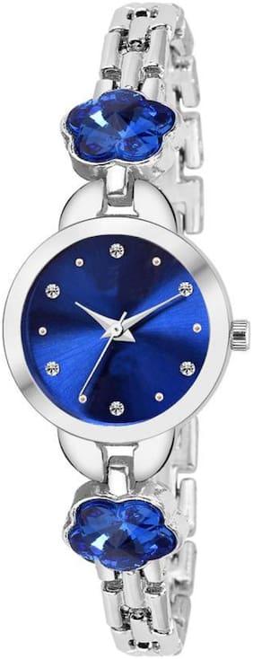 HRV Club PEARL-BLU Premium Beautiful Watch Case color silver