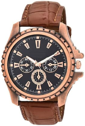 HRV Collection Full Brown Watch For Men