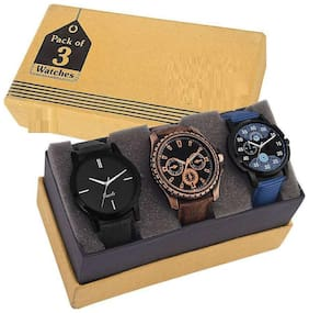 HRV COMBO OF 3 BEST DESIGNED Watch - For Boys