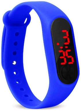 HRV LED Men Stylish Digital Watch