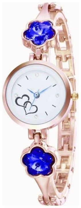 Hrv Mermaid Blossoms Rosegold Watch