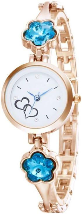 Hrv Mermaid-Blossoms Rosegold Watch