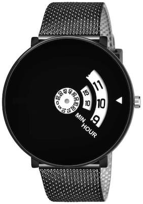 Men Black Analog Watch