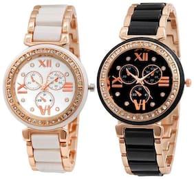 HRV Rose Gold Copper Best  Rakhi Gifts Watch - For Women