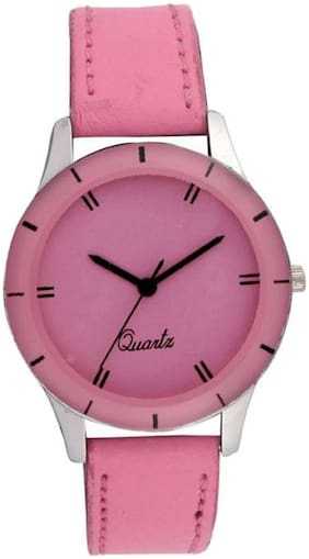 HRV Royal Baby-Pink AD083 Watch - For Girls