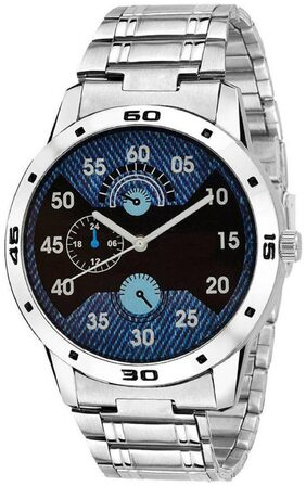 HRV Silver M_316 Choronograph print  Classic Analog Watch - For Boys