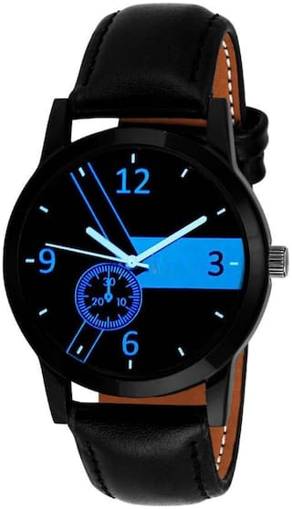 HRV Stylish black dial casual Analog watch for boy