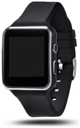 I-Birds Enterprises X6 Curved Smart Watch Unisex 44 mm Black Smart Watch