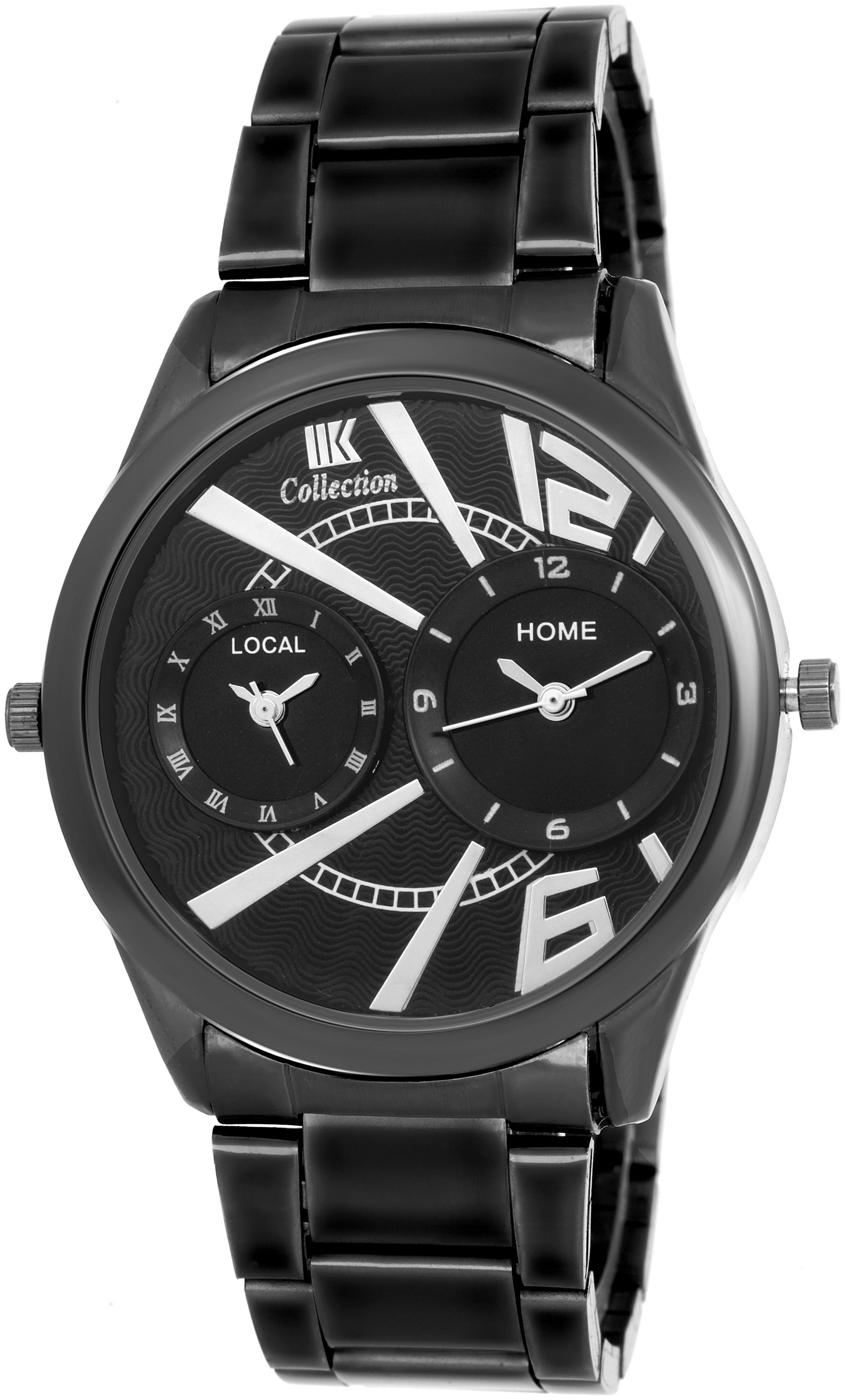 IIK Collection Black Dial Analog Wrist Watch For Men  IIK 087M  by Kapil Times