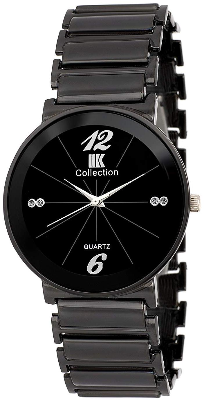 IIK Collection Black Dial Analog Wrist Watch For Men  IIK 086M  by Kapil Times