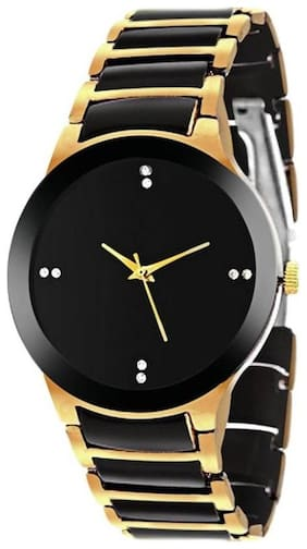 Infinity Enterprise classic fancy stylist metal strap designer analog watch for women