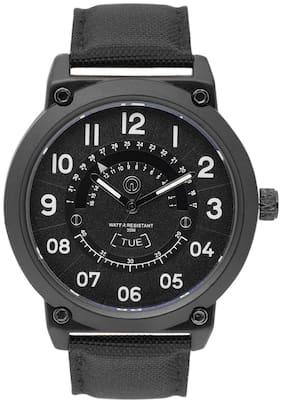 Integriti Analogue Black Dial Men's Watch - IGM018B