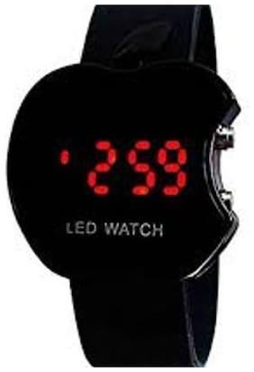 Ismart Black Led Digital Watch For Boys, Girls, Kids (Ismart00027)