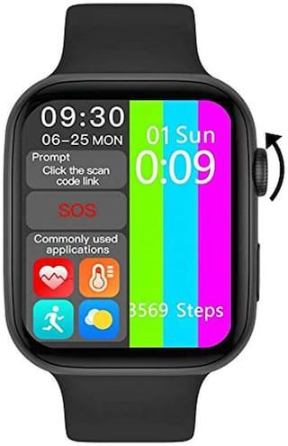 J KART MC 72 PRO BLACK Men 40 mm Black Smart Watch