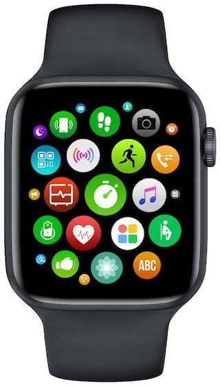 J KART T55 BLACK Series 5X 44mm Metal Case Smart Watch with Bluetooth Calling