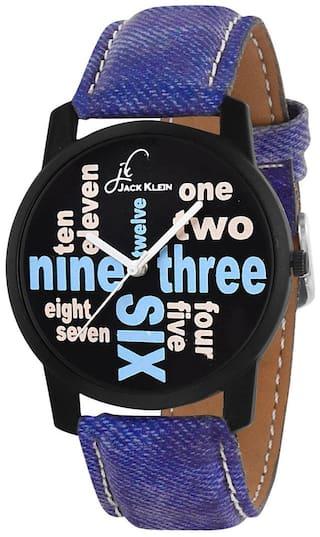 Jack Klein Denim Finish Funky Wrist Watch For Men