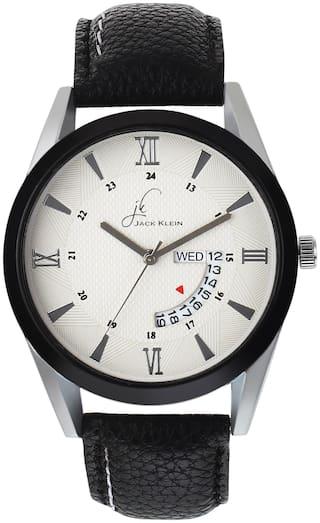 Jack Klein 51620ST13 Men White - Analog Watch