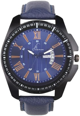 Jack Klein Trendy Blue Dial Day And Date Working Multi Function Wrist Watch