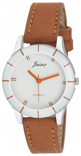 Jainx Analog White Dial New Age Ladies Sports Watch - JW543