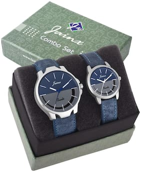 Jainx Multi Color Dial Analog Watch For Couple - JC439