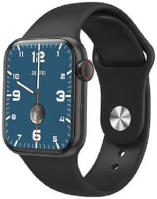 JANBAY CREATION HW 12 Series 6X 44MM Metal Case Smart Watch with Bluetooth Calling - Full Display