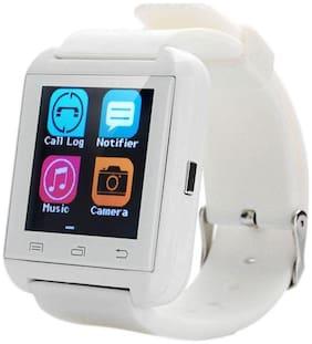 Jhpb U8 Smart Watch For All Smart Phones (white)