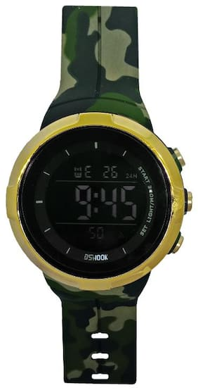 JM New Army Style Digital H Watch