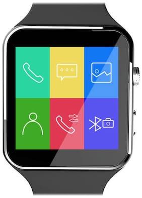 JM New X6 White Smart Watch with Crue Glass
