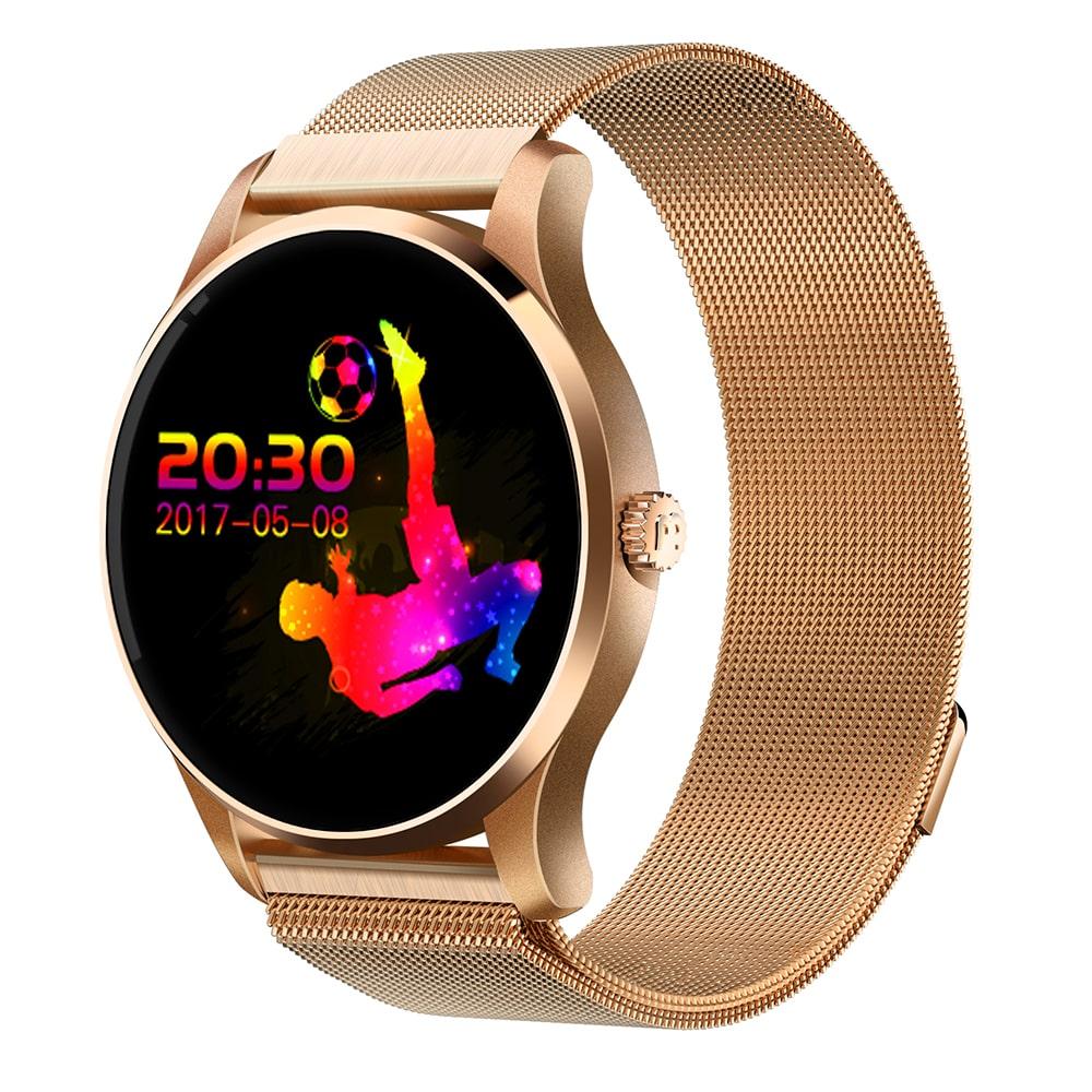 K88 Smartwatch Bluetooth 4.0 IP65 Waterproof Sedentary Reminder Sleep / Heart Rate Monitor Pedometer Remote Camera Anti-lost Find Phone image