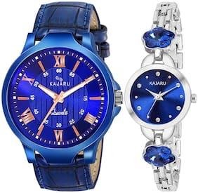 Kajaru Analog Quartz Stylish Couple Watch