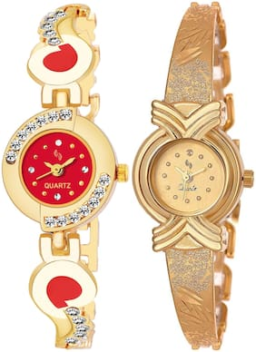 KAJARU BANGLE_905_902 New Arrival Pack Of 2 Watch For Girls & Women
