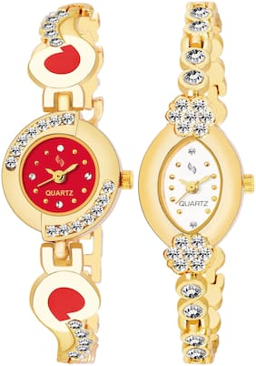 KAJARU BANGLE_905_912 New Arrival Pack Of 2 Watch For Girls & Women