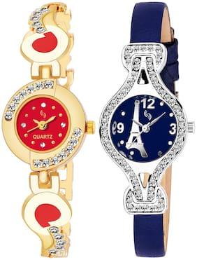 KAJARU BANGLE_905_809 New Arrival Pack Of 2 Watch For Girls & Women