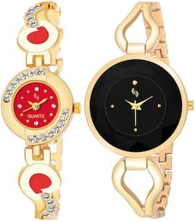 KAJARU BANGLE_905_811 New Arrival Pack Of 2 Watch For Girls & Women