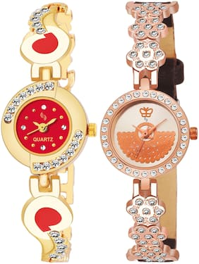 KAJARU BANGLE_905_817 New Arrival Pack Of 2 Watch For Girls & Women