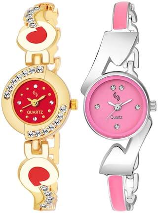 KAJARU BANGLE_905_808 New Arrival Pack Of 2 Watch For Girls & Women