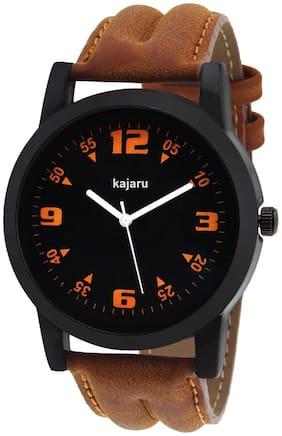 KAJARU K-129 NEW STYLISH BLACK DIAL WATCH FOR MEN & BOY